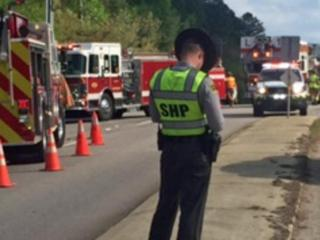 A crash on Creedmoor Road just north of the City of Raleigh border Friday afternoon detoured northbound drivers throughout the afternoon rush hour.