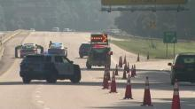 IMAGES: Pedestrian killed in crash on I-440 in Raleigh