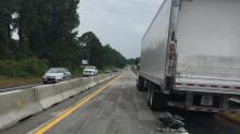 IMAGES: Southbound lanes of I-85 reopen after wreck near Virginia line