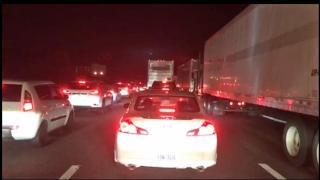 Crash closes I-40 East near Durham