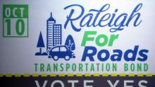 Raleigh kicks off effort to pass roads bond