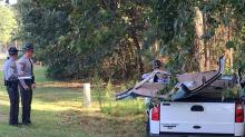 IMAGES: Child, 1-year-old survive fatal crash in Johnston County
