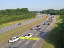Stop lights installed at I-540 ramps are the first in NC