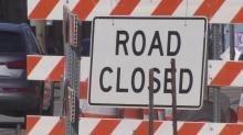 IMAGE: Construction closes part of Hillsborough Street through weekend