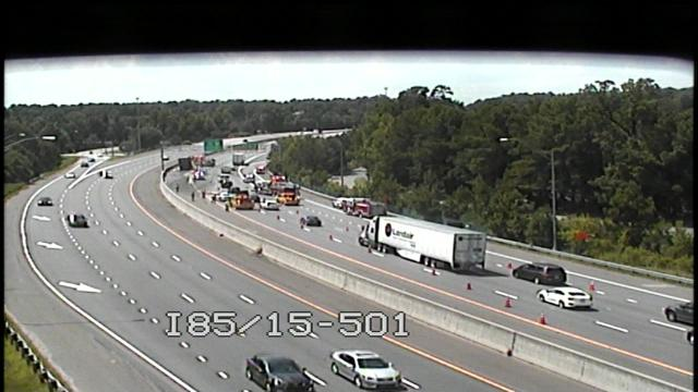 Back up forming on I85 :: WRAL com