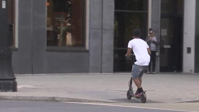 New rules will allow e-scooters to stay in Raleigh :: WRAL com
