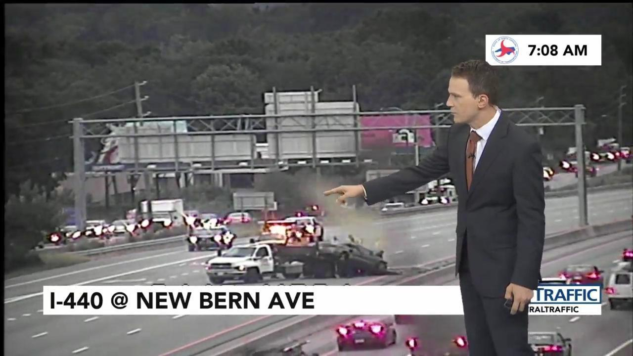 All EB I-440 lanes at New Bern reopened after overnight