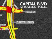 Big switch: Capital Boulevard ramp to close as new route opens