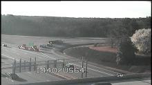 IMAGE: Truck overturns on I-440 ramp near New Bern Avenue