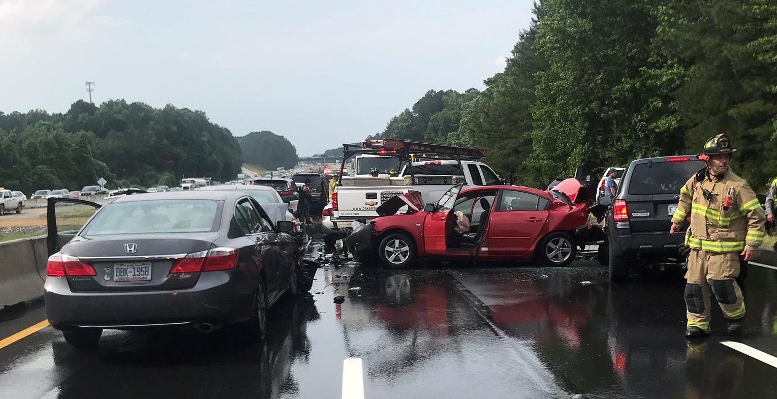Highway Patrol: 30 vehicles involved in I-40 crash :: WRAL com