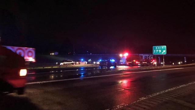 Crash closes I-85 in Durham