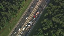 IMAGE: I-40 reopens in Durham after crash delays morning commute