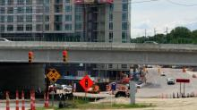 IMAGE: Peace Street ramp to Capital Blvd. to reopen in time for Friday evening commute
