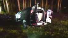 IMAGE: 2 dead, 10 sent to hospitals when van crashes on I-95