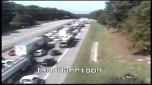 IMAGE: I-40 closed for about 40 minutes near Aviation Parkway