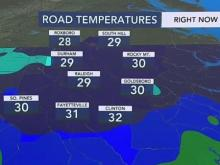Chilly weather, wet roads causes potential for slick bridges
