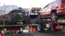 IMAGE: Driver hit in crash involving 2 trucks I-95 near Dunn