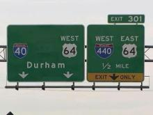 Drivers face first lane closures on I-40/440