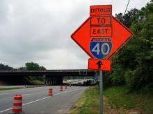 Fortify road project shifts traffic on Hammond Road