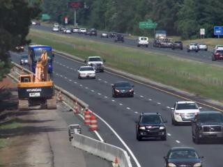 Fortify work on Interstate 40 south of Raleigh.