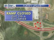 Ramp closure causes big changes