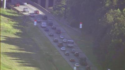 A minor accident created major delays Wednesday morning on Interstate 40 West in the Fortify work zone in south Raleigh. The wreck was reported near Gorman Street at about 7:20 a.m., and it created backups for several miles throughout the morning commute.