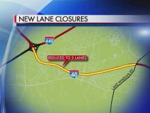 Fortify project lane closures