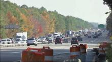 IMAGE: New lanes open in Fortify work zone in south Raleigh
