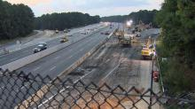 IMAGES: NCDOT: Slow down in constantly changing Fortify work zone