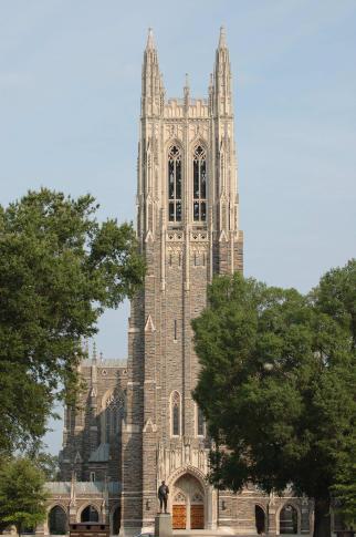 Photo by: Bob Ayers. Duke Chapel - July 07