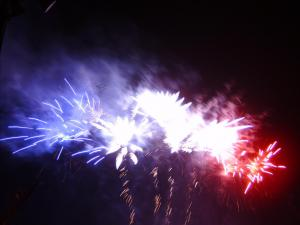 Photo by: Lauren. Fireworks celebration at Lillington, NC.
