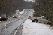 Jan. 18, 2007 snow-related wreck