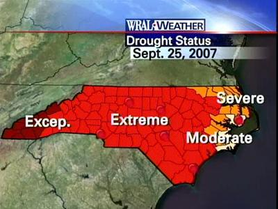 Sept. 25 drought map