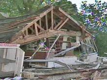 Onslow County tornado damage