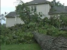 Storms across Carolinas knock out power to thousands