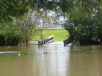 An image of flooding in Wilson City Park on Sept. 26, 2008. (Submitted by: Charles L. Smith Sr.)