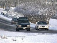 Wilson, Johnston counties see icy roads