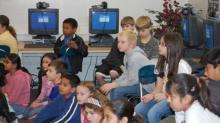 IMAGES: WeatherCenter Roadshow: Washington Elementary School in Raleigh