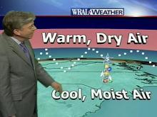 Weather 'bends' WRAL-TV airwaves
