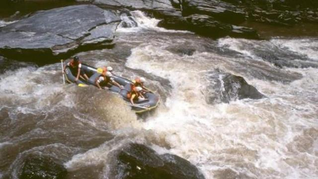 Sock-em-Dog Rapid on the Chattooga section 4