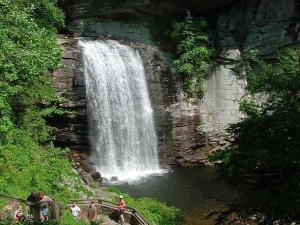 Looking Glass Falls (Photo courtesy of pisgahforest.com)