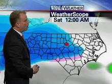 WRAL meteorologists track the chance of snow across the state.