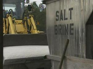 State Department of Transportation crews create and spread an anti-icing, salt-brine mixture on roads before winter storms. The mix is good for three days unless it is washed away by rain or temperatures dip under 20 degrees.