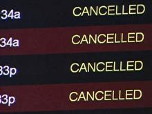 RDU travelers struggle with canceled flights