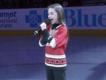 Hockey team's singer injured in sled wreck
