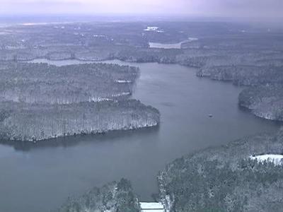 Falls Lake in 2010