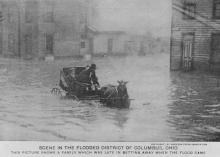 Transportation troubles in flood areas predate cars - but nowadays over half of flood drownings occur when people drive into floodwaters.