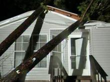 Rougemont family has close call with tornado