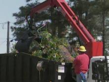 Cleanup under way after storms