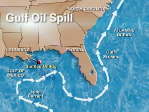 Oil in the Gulf Stream will make its way east and north, scientists say.